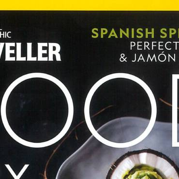 Olive oil LIVA in NATIONAL GEOGRAPHIC FOOD – April 2018 issue