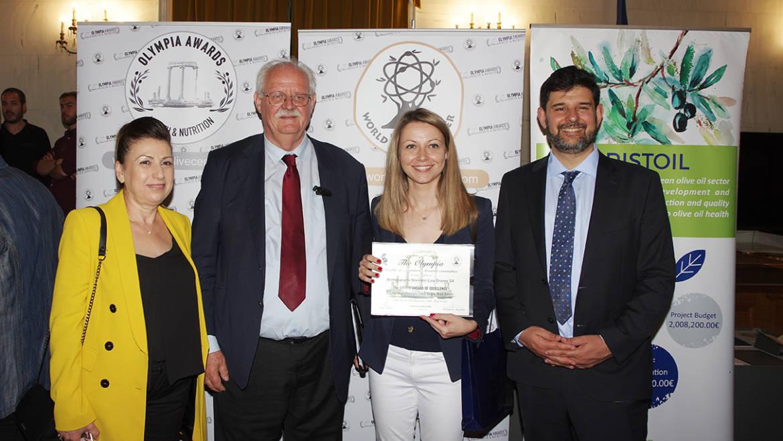 Το ελαιόλαδο Olive Oil LIVA, κατακτά, για τέταρτη συνεχή χρονιά το χρυσό βραβείο για High Phenolic Extra Virgin Olive Oil